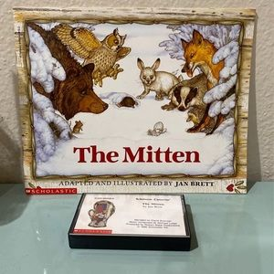 The Mitten Book & Tape
